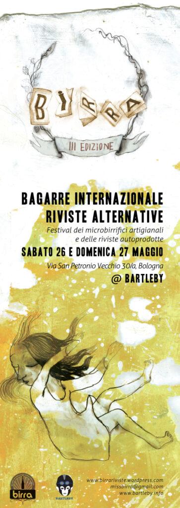 B.I.R.R.A. al Bartleby. Riviste alternative e birra artigianale in festival