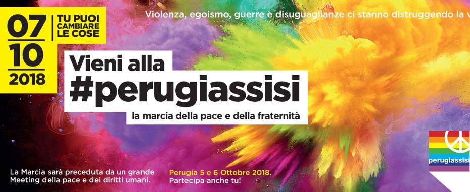 """""""Il 7 ottobre dobbiamo essere in tanti"""": l'appello in vista della Marcia PerugiAssisi"""