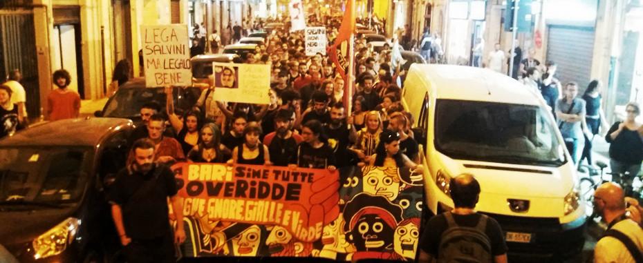 Bari-Italia: botte e fascismo, la protesta necessaria