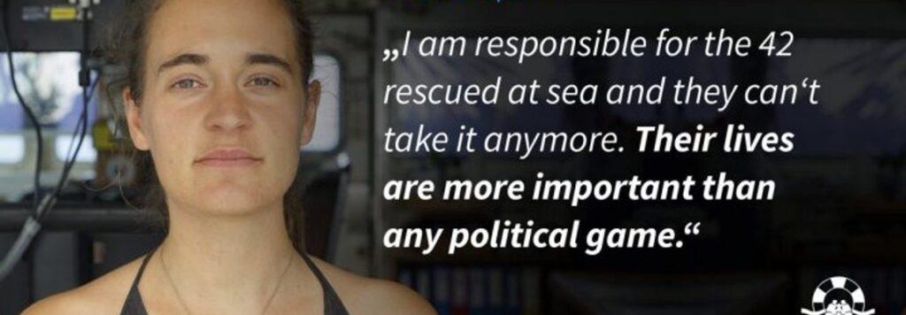 Sea Watch, migranti, cambiamenti climatici: uno scontro di civiltà