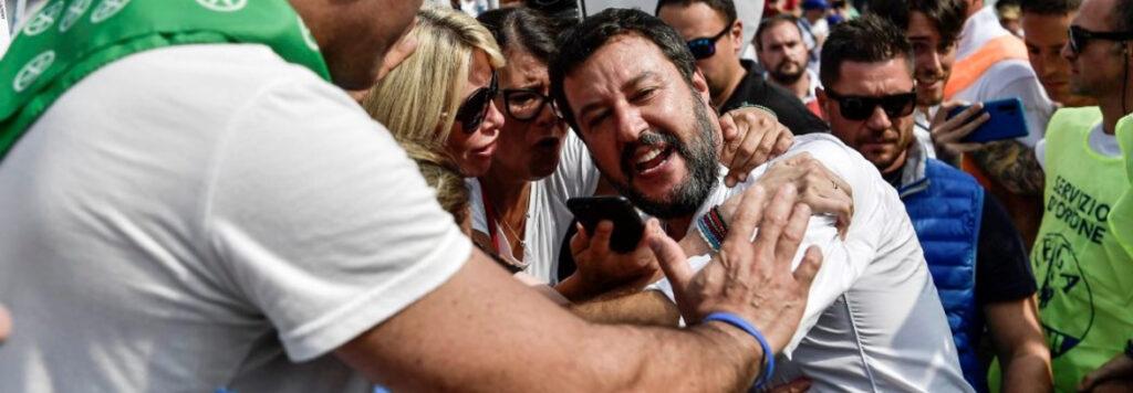 """Da Pontida alle Regionali, come Pd e M5s possono rispondere alla dialettica """"macha"""" di Salvini"""