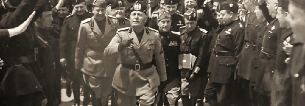 """E Mussolini gridò: """"C'è solo la razza ariana"""""""