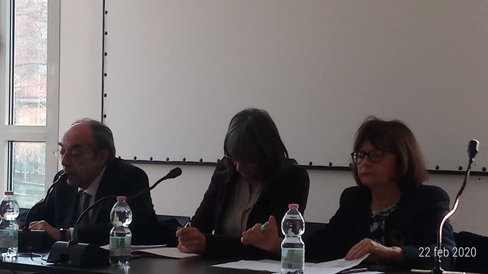 Dall'incontro sul referendum costituzionale (22/02/20, Sala del Quartiere San Donato, Bologna)