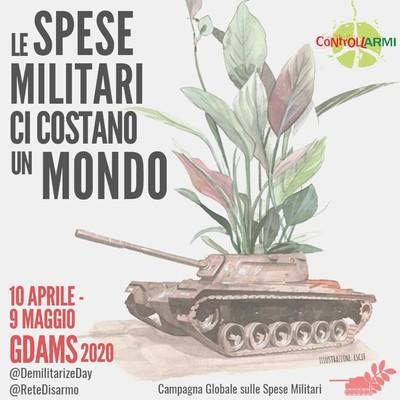 Assistenza sanitaria, non sistema di guerra: le spese militari ci costano un mondo!