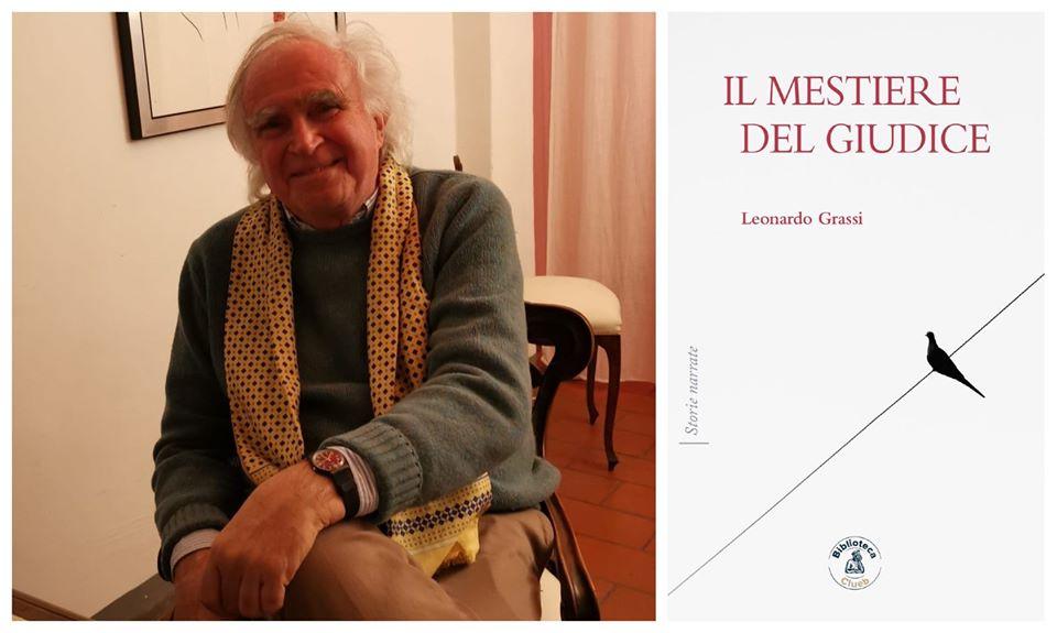"""Verso la presentazione online (Jitsi) del libro """"Il mestiere del giudice"""" di Leonardo Grassi"""