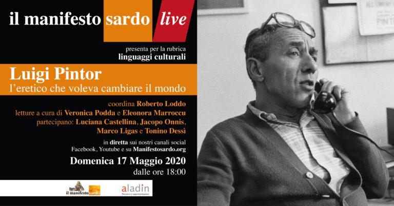 Il manifesto sardo omaggia Luigi Pintor, l'eretico che voleva cambiare il mondo