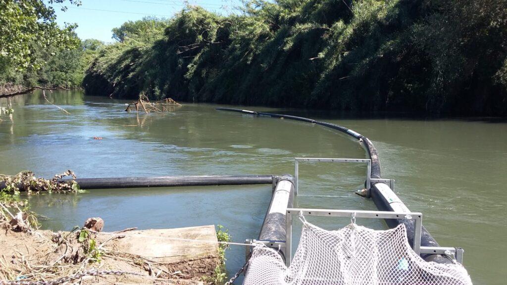 Nicola Zingaretti, Petroltecnica  la seconda barriera antirifiuti sul fiume Aniene