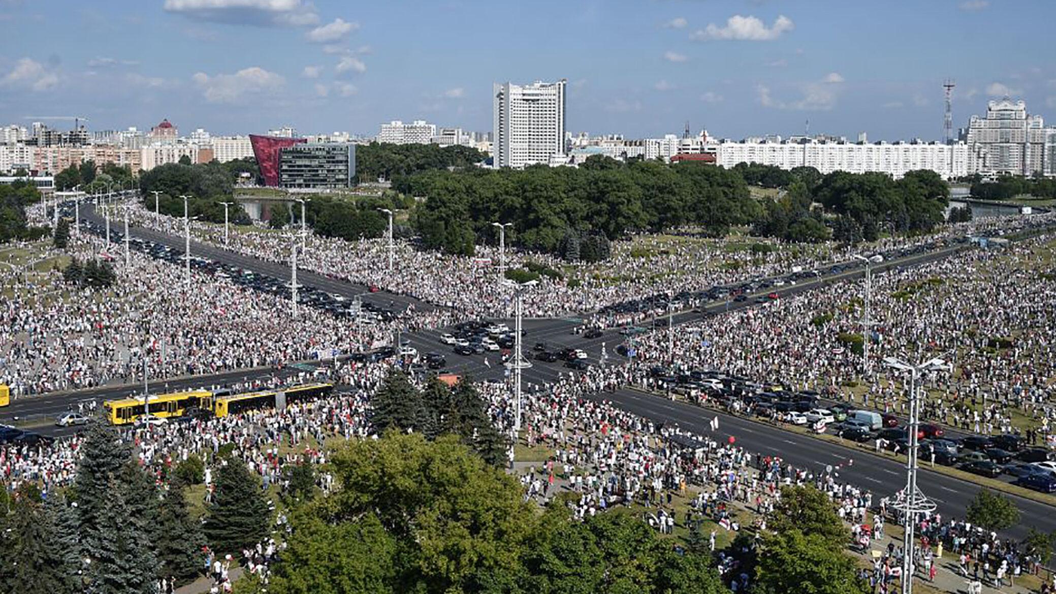 La solitudine della protesta bielorussa