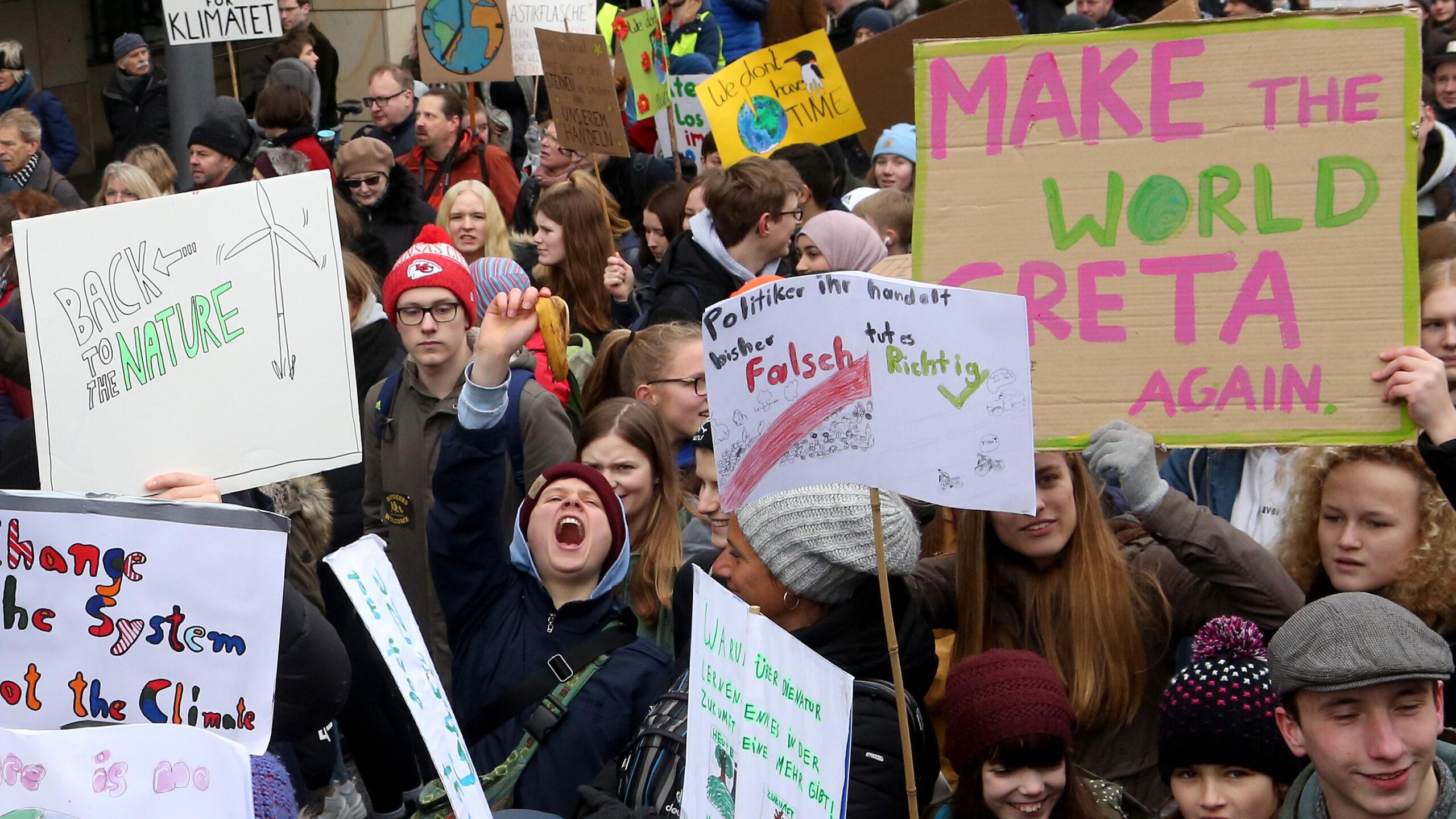 La settimana per il clima entra nel vivo: blocchi e scioperi