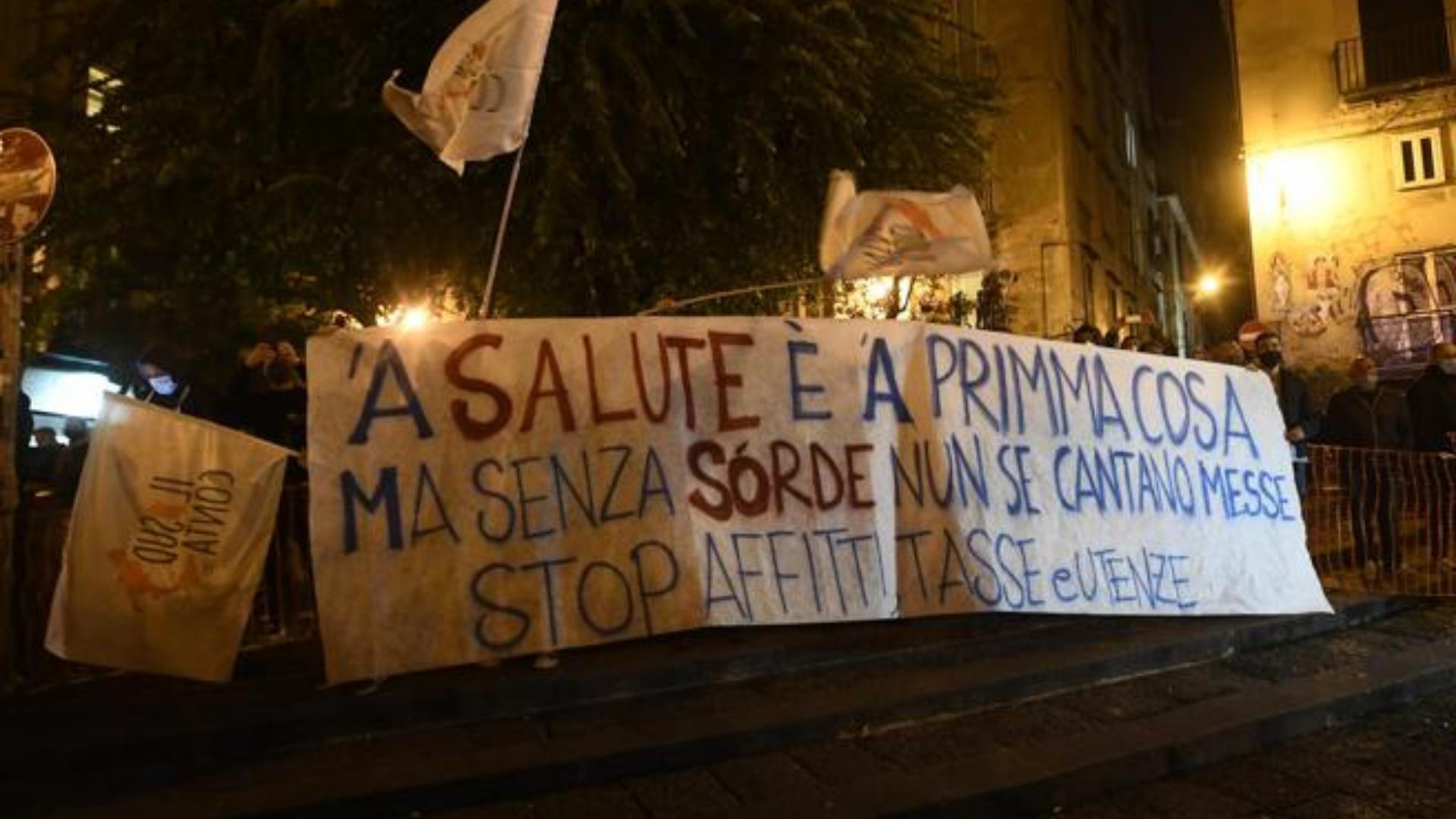 Le proteste napoletane hanno dato vita a un legame sociale