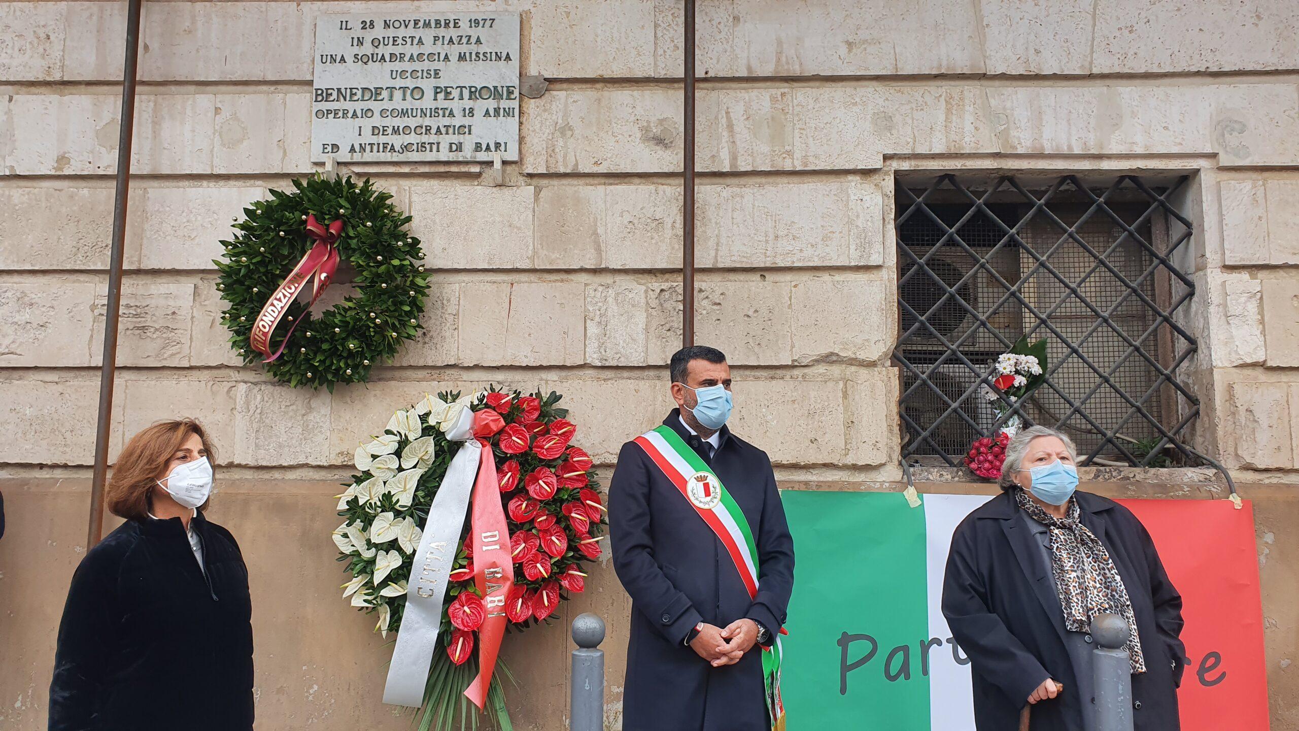 Benedetto Petrone operaio comunista di anni 18