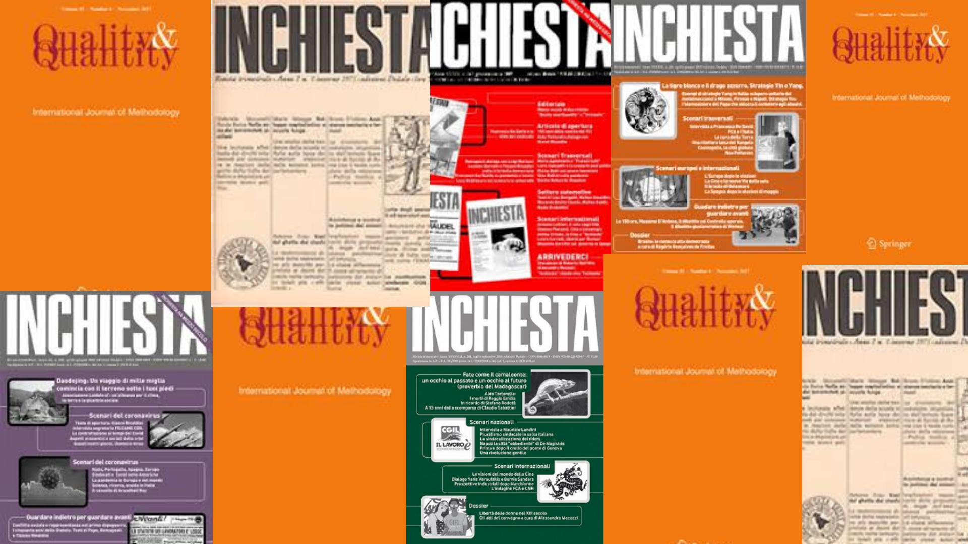 """""""Quality and Quantity"""" e """"Inchiesta"""". Mezzo secolo di due riviste"""
