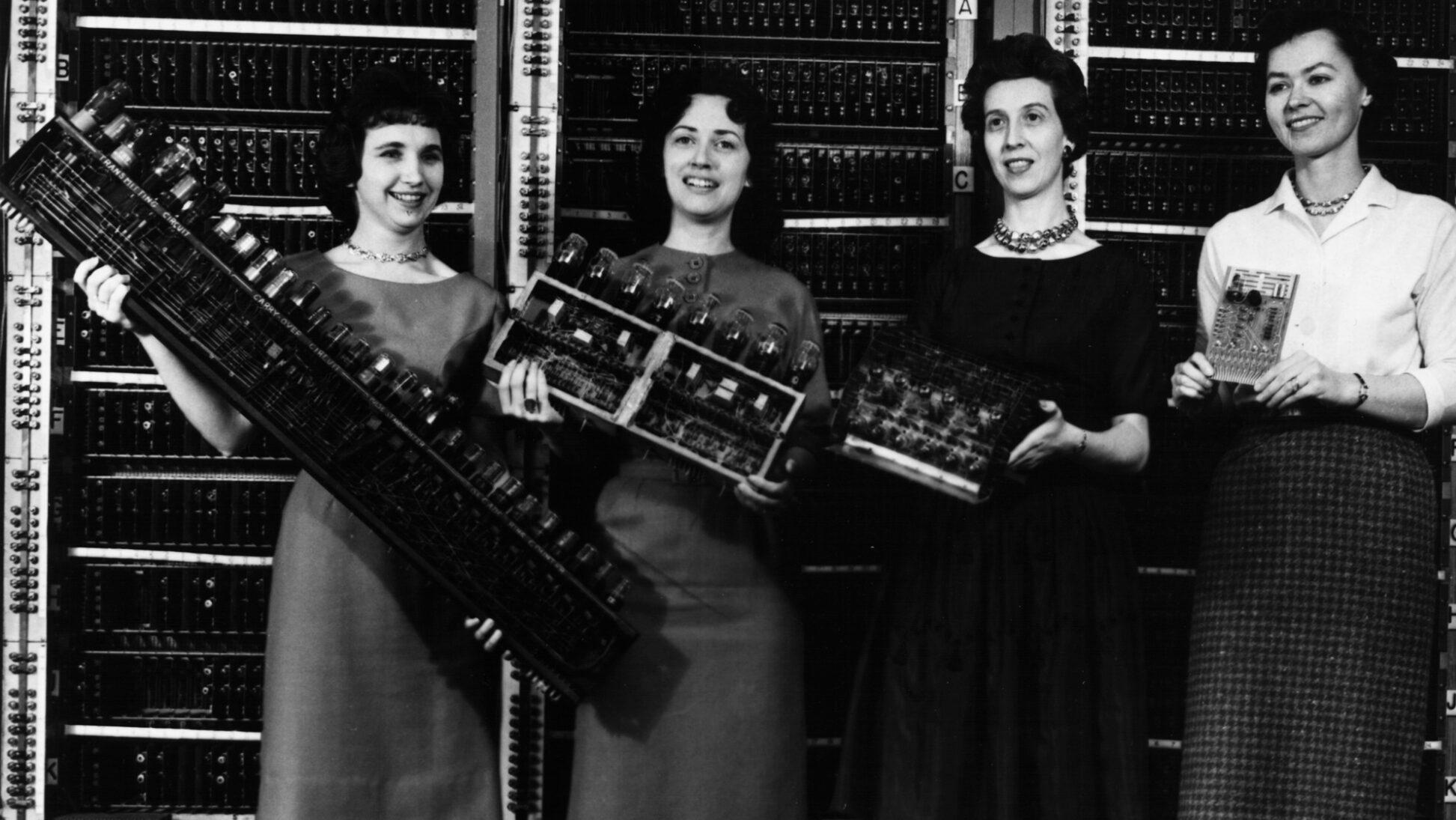 Il ruolo dimenticato delle donne nella storia dell'informatica