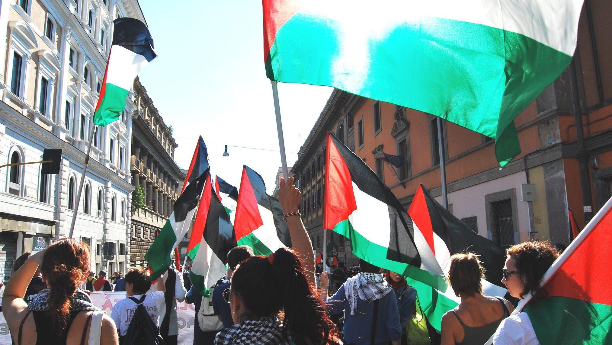 Contro l'apartheid israeliana, per i diritti dei palestinesi