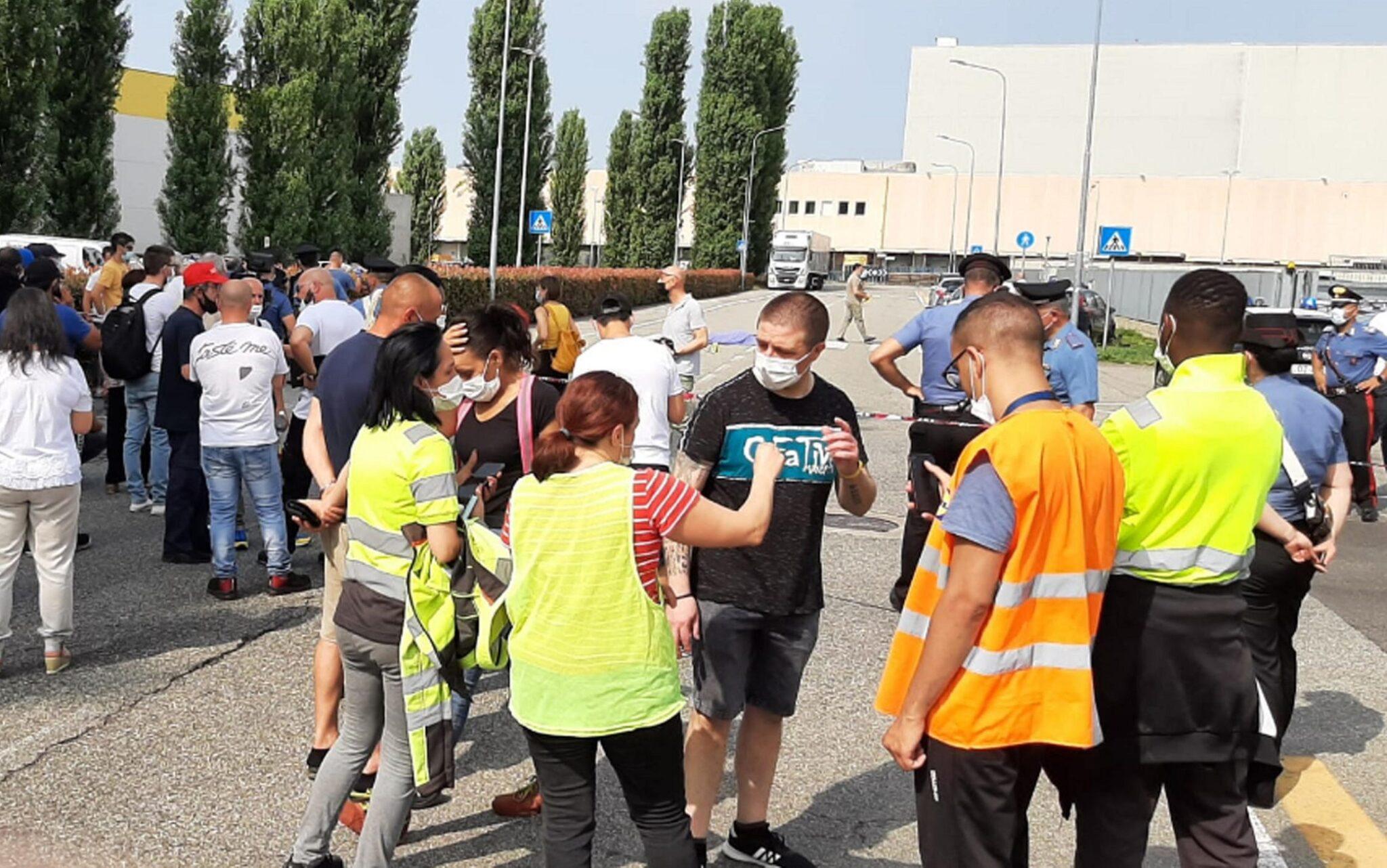Il giorno dopo a Biandrate lo sciopero si estende