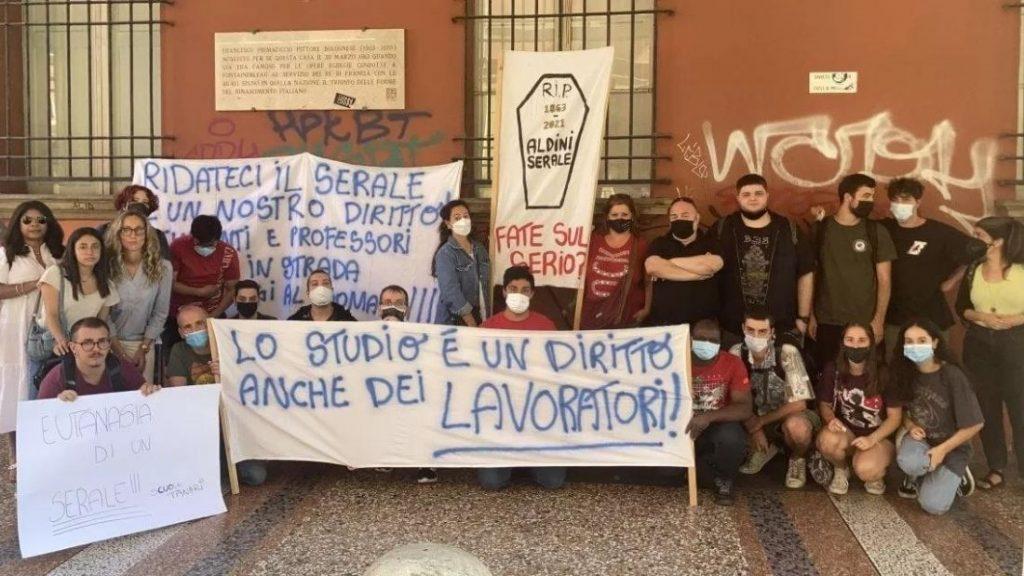 Bologna, grave la mancanza di fondi per le scuole serali